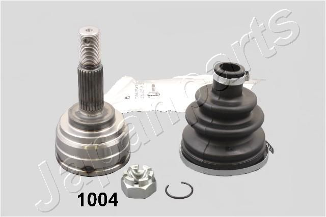 JAPANPARTS  GI-1004 Gelenksatz, Antriebswelle Außenverz.Radseite: 25, Innenverz. Radseite: 22
