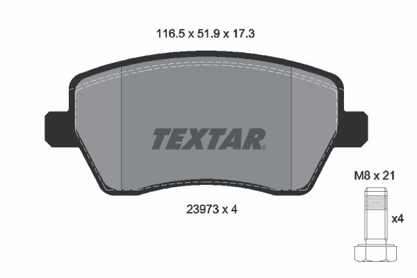 Artikelnummer 8553D1435 TEXTAR Preise