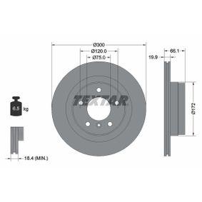 Bremsscheibe Bremsscheibendicke: 19,9mm, Ø: 300mm mit OEM-Nummer 6 764 651