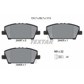 Honda Civic 8 2.2 CTDi (FK3) Wasserpumpe + Zahnriemensatz TEXTAR 2408701 (2.2 CTDi (FK3) Diesel 2010 N22A2)