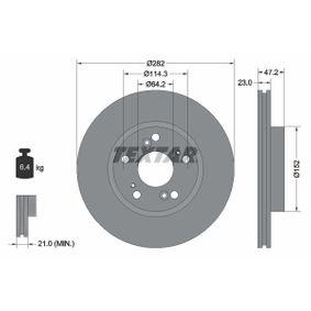 Disco de freno 92144400 CIVIC 8 Hatchback (FN, FK) 1.6 ac 2013