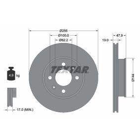 Disco de freno 92144700 GETZ (TB) 1.5 i ac 2003