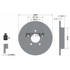 2011 Mazda 3 BL 1.6 MZR CD Brake Disc 92130500