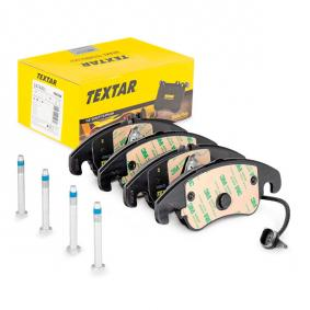 Bremsbelagsatz, Scheibenbremse Breite: 188,2mm, Höhe 1: 73,5mm, Höhe 2: 72,9mm, Dicke/Stärke: 19,4mm mit OEM-Nummer 8K0698151H