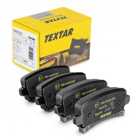 Brake Pad Set, disc brake Width: 106,4mm, Height: 47,1mm, Thickness: 17,3mm with OEM Number 1605319