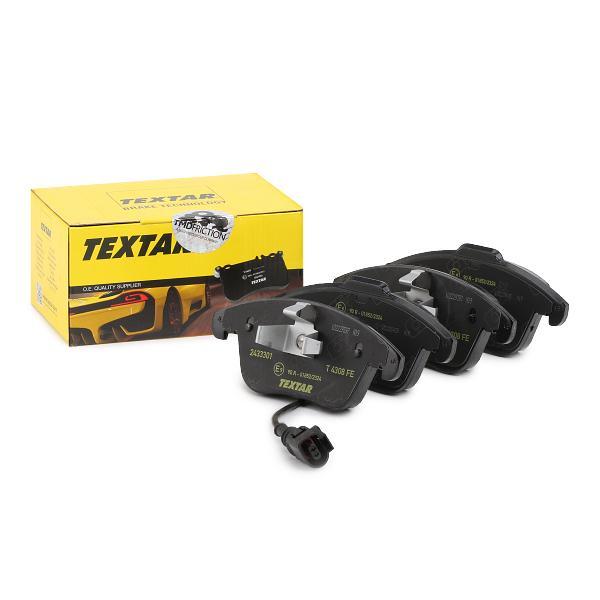 Bremsklötze TEXTAR 2433320005 Erfahrung
