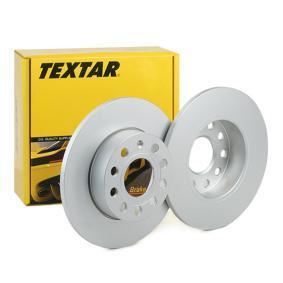 Bremsscheibe Bremsscheibendicke: 11,9mm, Ø: 256mm mit OEM-Nummer 1K0615601AC
