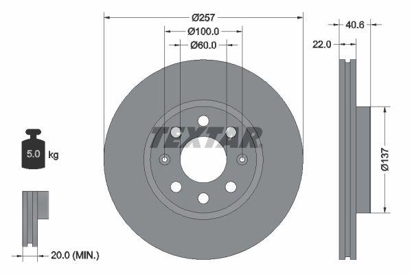 Disc Brakes TEXTAR 92145703 expert knowledge