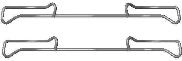 TEXTAR  82076800 Zubehörsatz, Bremssattel