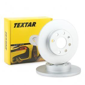 TEXTAR Disco de travão 92020903 com códigos OEM 93182290