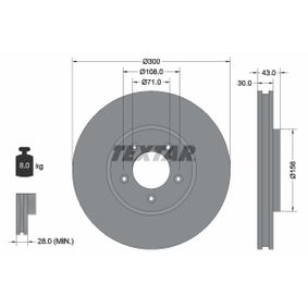 Brake Disc Article № 92099003 £ 140,00