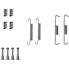 Zubehörsatz, Feststellbremsbacken 97032200 X3 (E83) 2.0 d Bj 2004