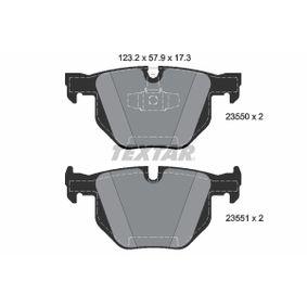 Brake Pad Set, disc brake 2355081 3 Saloon (E90) 330d 3.0 MY 2008