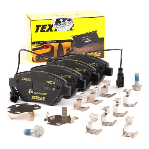 Bremsklötze TEXTAR 23706 Erfahrung