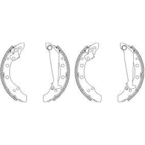 Bremsbackensatz mit OEM-Nummer 1H0698520X