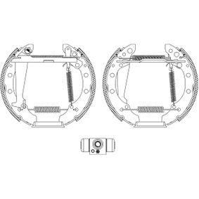 TEXTAR Shoe Kit Pro 84044703 Kit frenos, disco de tambor