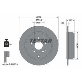 Disco de freno 92227203 CR-V 4 (RM_) 2.4 ac 2021