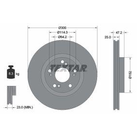 Спирачен диск 92140903 MDX (YD) 3.5 (YD1) Г.П. 2004