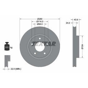 Brake Disc 92232203 JUKE (F15) 1.5 MY 2019