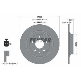 Disco de freno 92242703 CX-5 (KE, GH) 2.0 ac 2015
