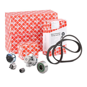 Timing belt and water pump kit FEBI BILSTEIN 45116 expert knowledge