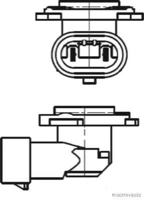 Lámpara, faro antiniebla HERTH+BUSS ELPARTS 89901305 evaluación