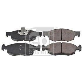 Bremsbelagsatz, Scheibenbremse Breite: 52,5mm, Dicke/Stärke 1: 16,7mm mit OEM-Nummer 9948870