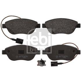Bremsbelagsatz, Scheibenbremse Breite: 57,5mm, Dicke/Stärke 1: 19mm mit OEM-Nummer 77365468