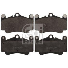 Bremsbelagsatz, Scheibenbremse Breite: 89,0mm, Dicke/Stärke 1: 16,8mm mit OEM-Nummer 996.351.949.12