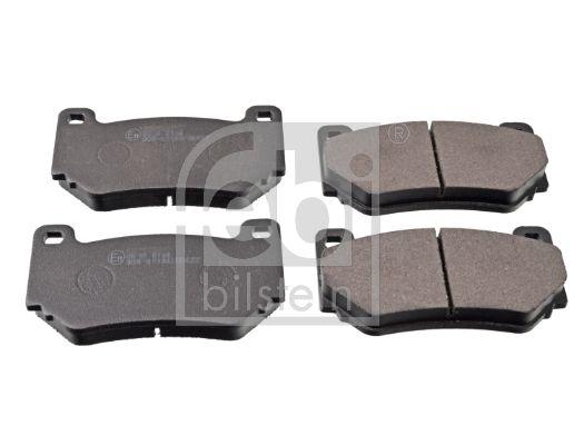 FEBI BILSTEIN  116203 Bremsbelagsatz, Scheibenbremse Breite: 59,2mm, Dicke/Stärke 1: 15,6mm