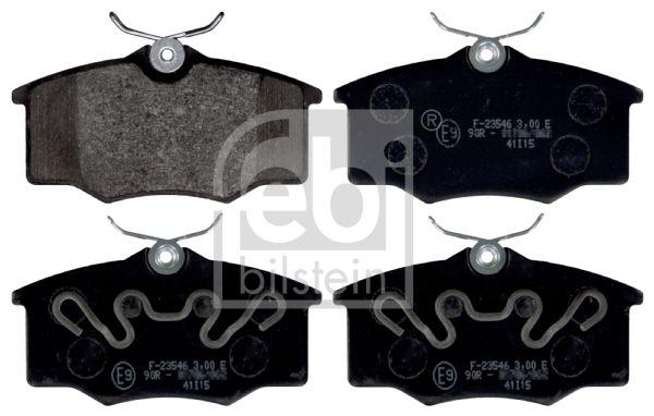 FEBI BILSTEIN  116215 Bremsbelagsatz, Scheibenbremse Breite: 53,5mm, Dicke/Stärke 1: 15,5mm