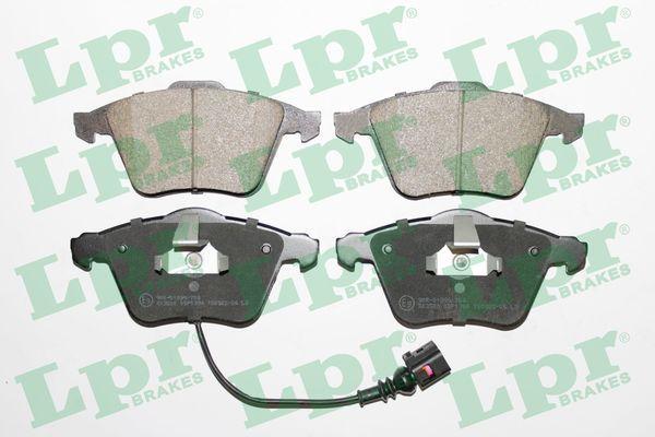 LPR  05P1384 Bremsbelagsatz, Scheibenbremse Breite: 155,1mm, Höhe: 72,8mm, Dicke/Stärke: 20,4mm