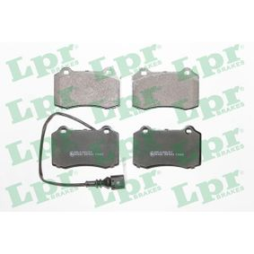 Bremsbelagsatz, Scheibenbremse Breite: 109,8mm, Höhe: 69,2mm, Dicke/Stärke: 15mm mit OEM-Nummer 1ML.698.151