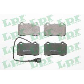 Bremsbelagsatz, Scheibenbremse Art. Nr. 05P1672 120,00€