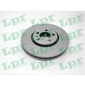 Bremsscheibe Bremsscheibendicke: 25mm, Felge: 5-loch, Ø: 288mm mit OEM-Nummer 1J0.615.301K