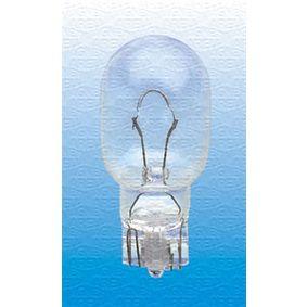 Bulb, indicator T4W, BA9s, 12V, 4W 002893100000