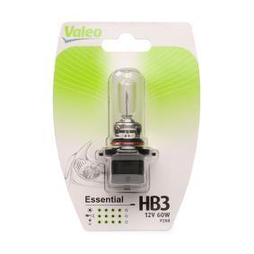 Крушка с нагреваема жичка, фар за дълги светлини HB3, 60ват, 12волт, ESSENTIAL 032012 VW Phaeton (3D1, 3D2, 3D3, 3D4, 3D6, 3D7, 3D8, 3D9)