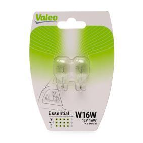 Bulb, indicator W16W, W2.1x9.5d, 12V, 16W, ESSENTIAL 032122