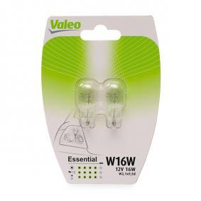 Bulb, indicator W16W, W2.1x9.5d, 12V, 16W, ESSENTIAL 032122 MERCEDES-BENZ C-Class, E-Class, A-Class