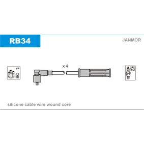 JANMOR  RB34 Zündleitungssatz Silikon