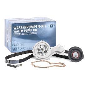 Wasserpumpe + Zahnriemensatz Breite: 18mm mit OEM-Nummer 026121005JX
