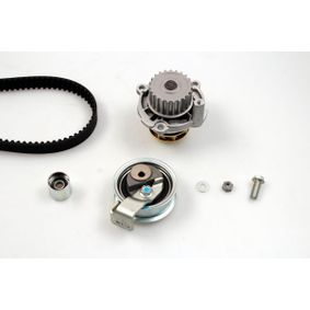 Wasserpumpe + Zahnriemensatz Breite: 23mm mit OEM-Nummer 06B 121 011 HX