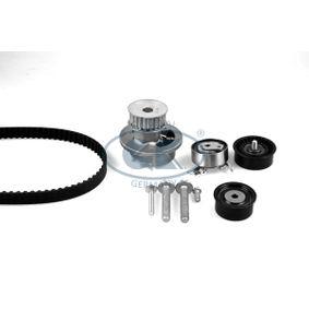 Wasserpumpe + Zahnriemensatz Breite: 20mm mit OEM-Nummer 90 44 4079