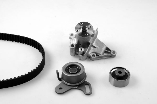 GK  K987766A Water pump and timing belt kit Width: 22mm
