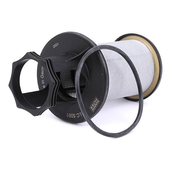 Filtro, ventilación bloque motor MANN-FILTER LC 5001 x 4011558390006