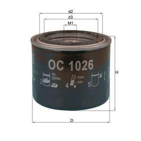 Ölfilter Ø: 82,0mm, Ø: 82,0mm, Höhe: 72mm mit OEM-Nummer 15410MJ0003