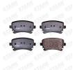 STARK Bremsbelagsatz, Scheibenbremse SKBP-0011016 für AUDI A4 Cabriolet (8H7, B6, 8HE, B7) 3.2 FSI ab Baujahr 01.2006, 255 PS