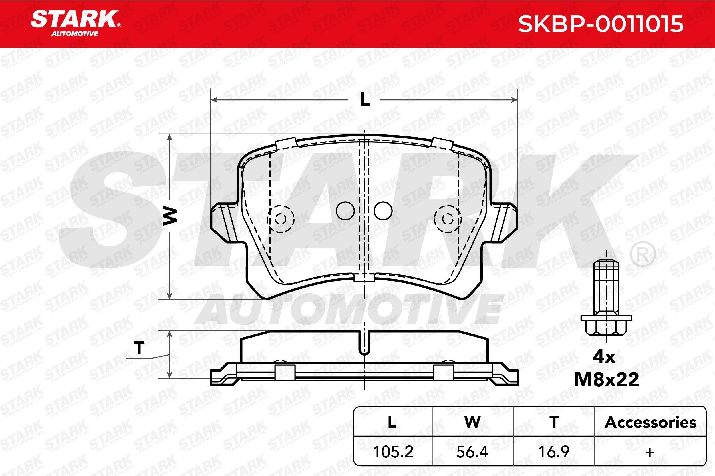 Bremsklötze STARK SKBP-0011015 Erfahrung