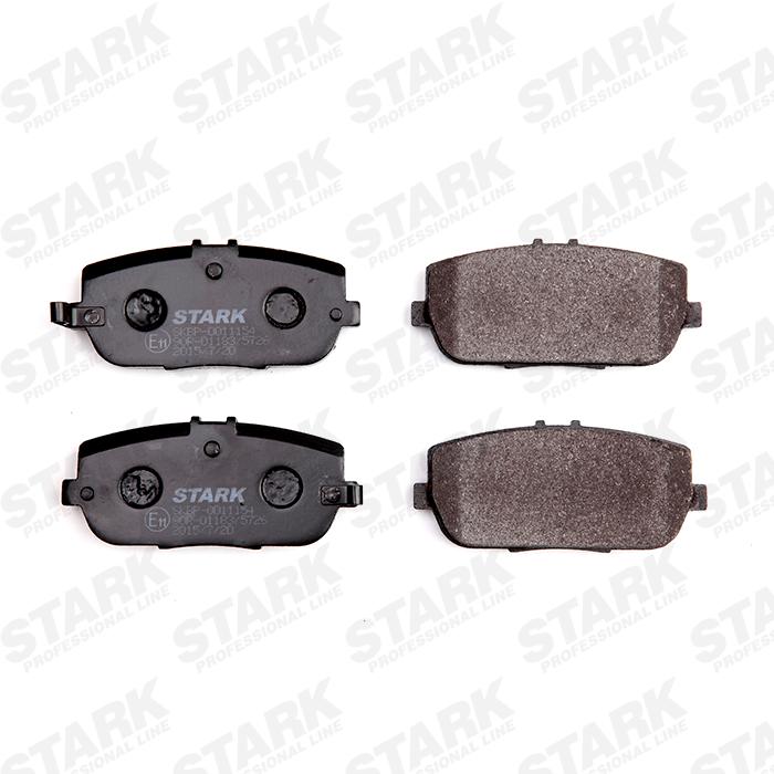 STARK  SKBP-0011154 Bremsbelagsatz, Scheibenbremse Höhe: 45mm, Dicke/Stärke: 13,8mm