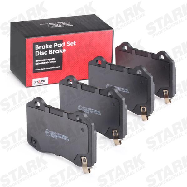 STARK  SKBP-0011201 Bremsbelagsatz, Scheibenbremse Breite: 109,6mm, Höhe: 69,1mm, Dicke/Stärke: 14,8mm